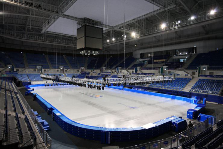 The Gangneung Ice Arena