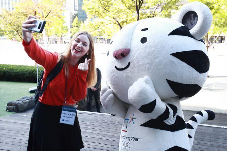 The Pyeongchang 2018 mascots