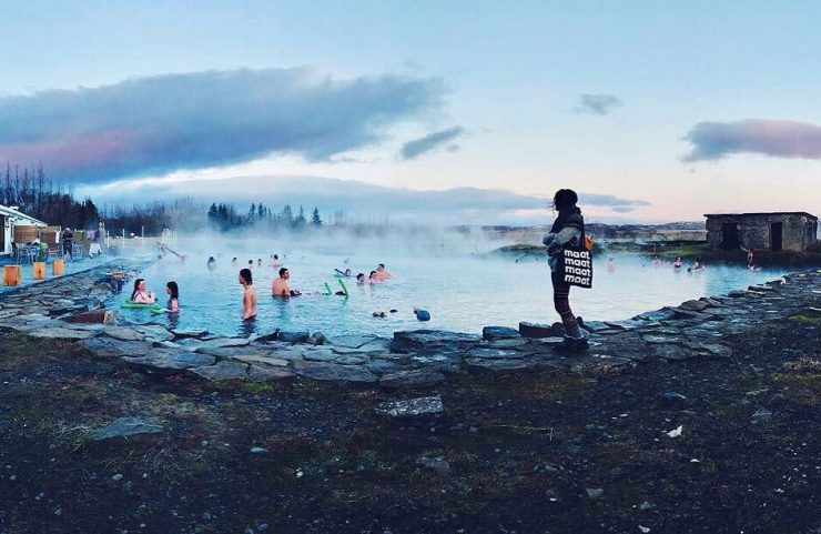 The Secret Lagoon, Iceland.