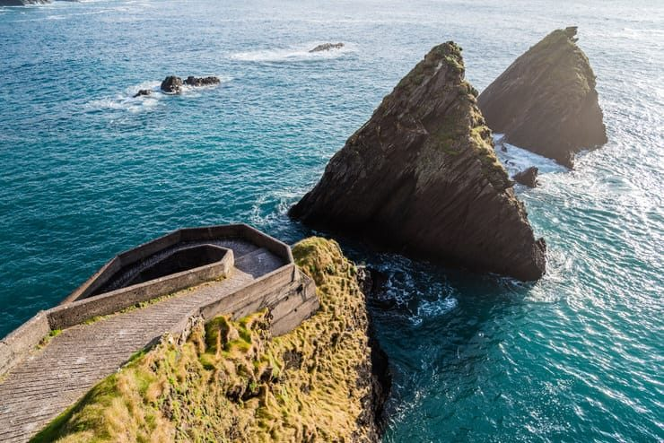 Breath taking scenery on the west cost of Ireland, top of the Slea Head drive