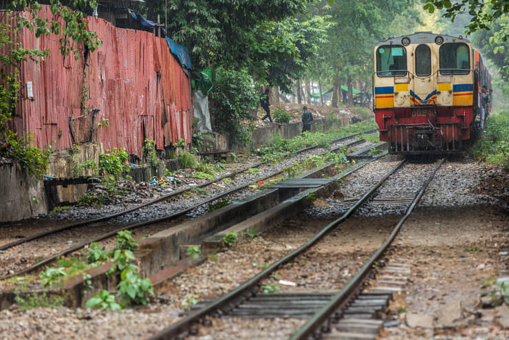 Circular train journey