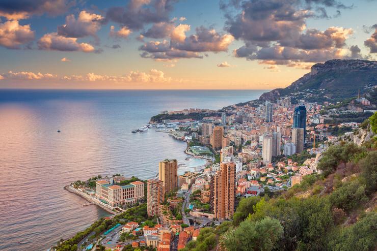 Cityscape image of Monte Carlo, Monaco