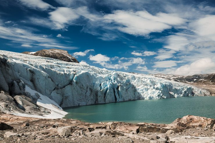 Jostedalsbreen Glacier, Norway