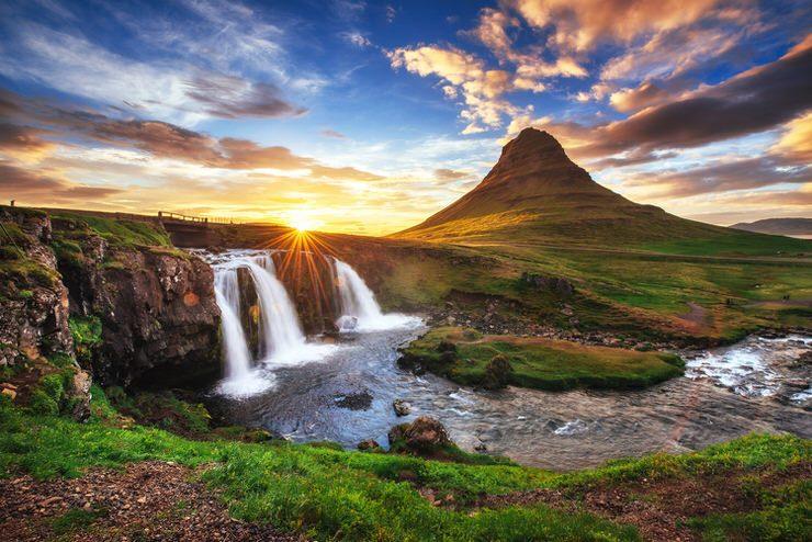 Kirkjufell Mountain, Snaefellsjokull National Park, Iceland