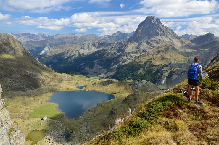 Lake Gentau, Pyrenees National Park, France