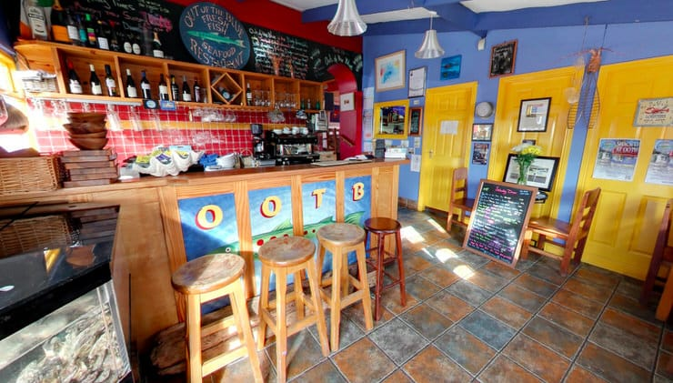 Out of the Blue Restaurant, Dingle