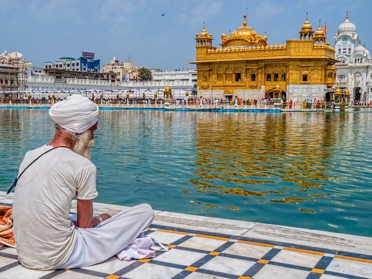 The Harmandir Sahib, Punjab, India