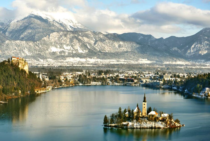 Bled during the winter