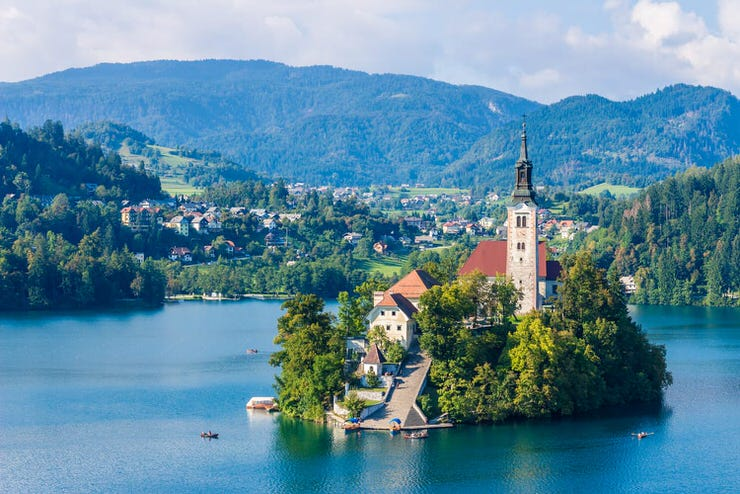 Church of the Assumption of Maria, Bled, Slovenia