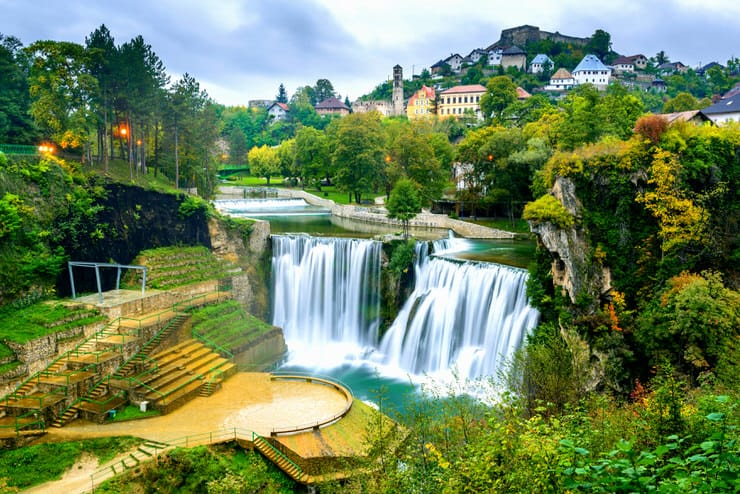 Pliva Waterfall, Bosnia and Herzegovina
