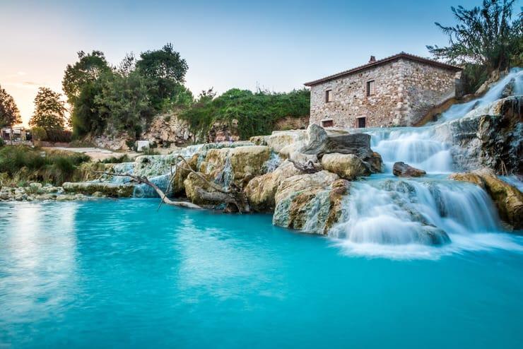 Terme di Saturnia, Italy