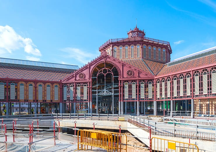 The Mercat de Sant Antoni was designed in 1882, an important time of the catalan modernisme