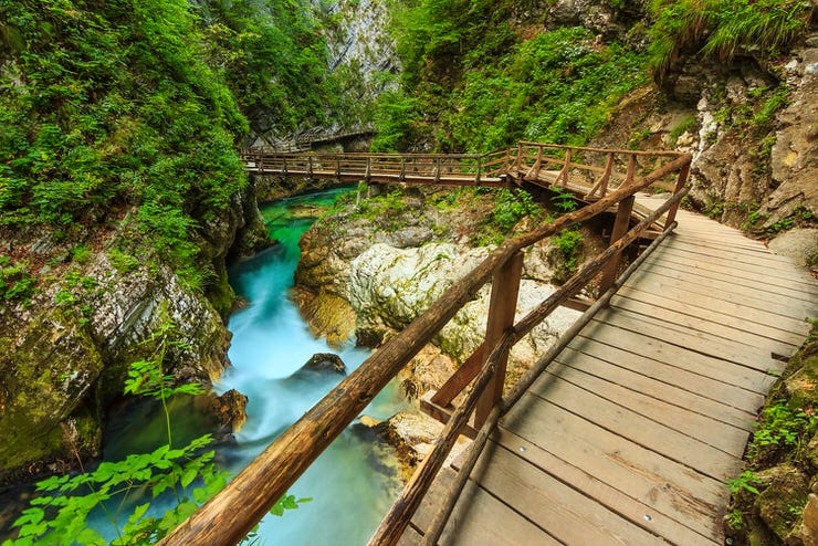 Vintgar Gorge, Bled, Slovenia