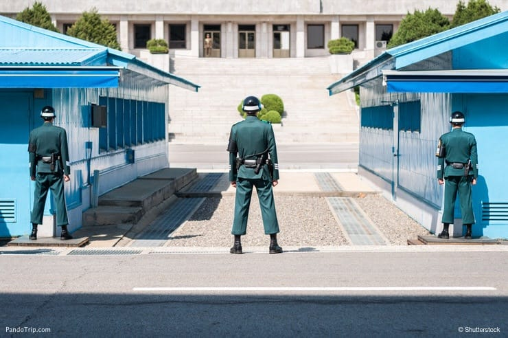 Korean demilitarized zone (DMZ)