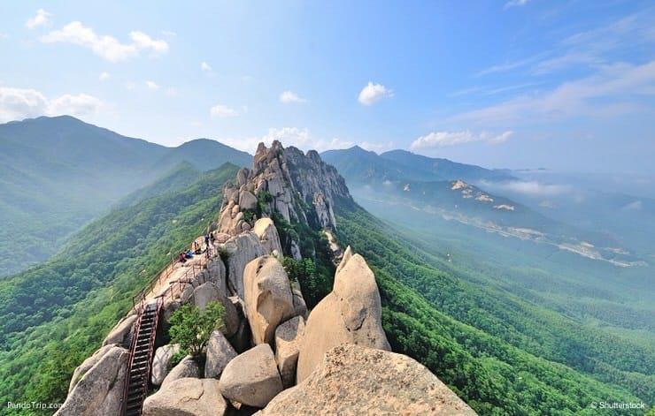 Seoraksan national park, Korea