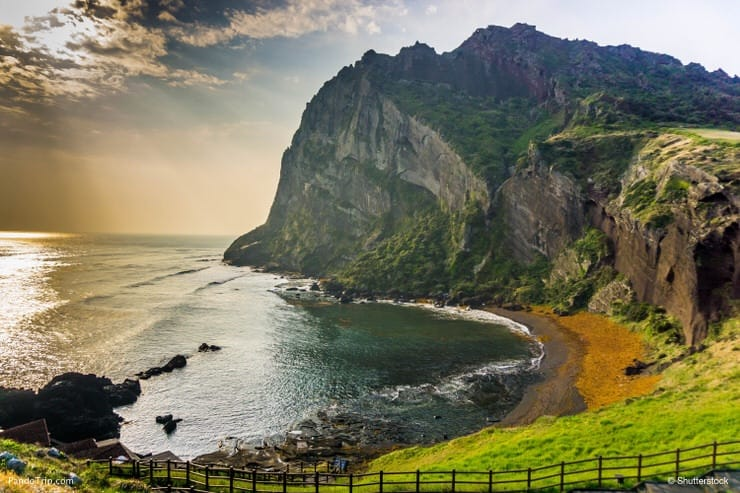 The Songaksan Mountain, Jeju Island, South Korea