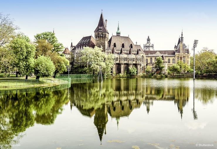 City Park, Budapest, Hungary