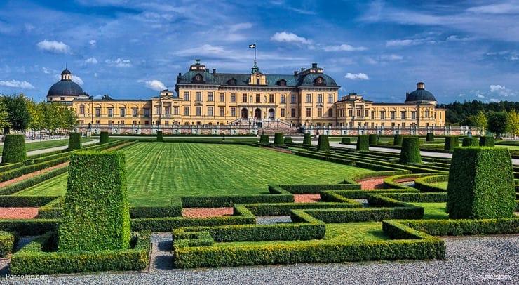 Drottningholm Slott, Stockholm, Sweden