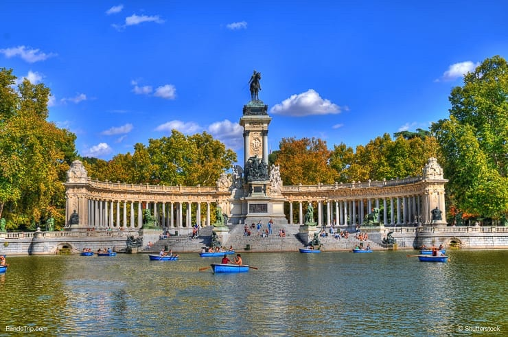 El Retiro park, Madrid, Spain