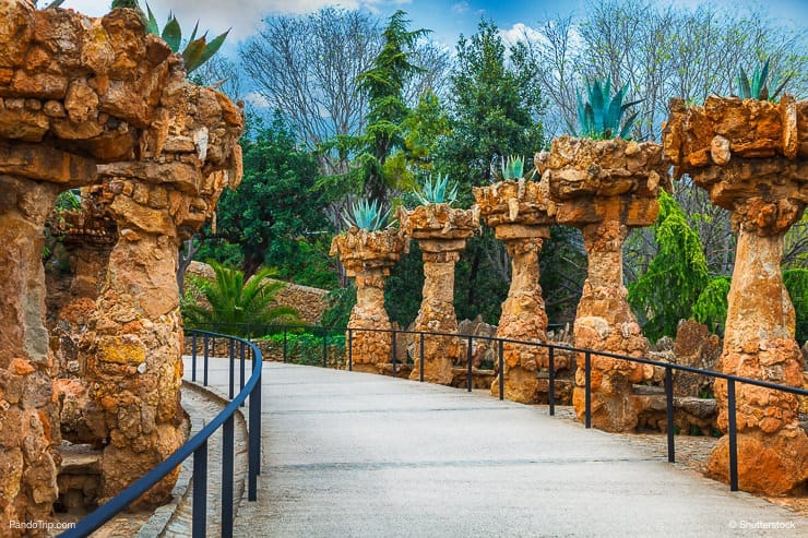 Parc Guell, Barcelona, Spain