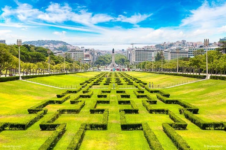 Park Eduardo VII, Lisbon, Portugal