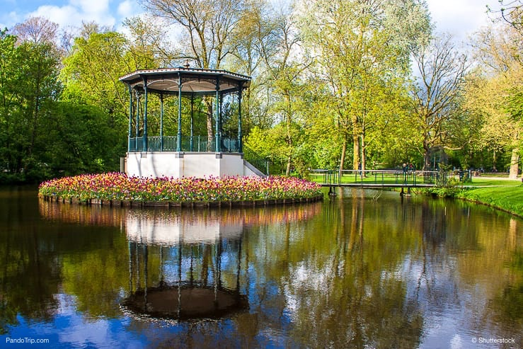 Vondelpark in Amsterdam, Holland