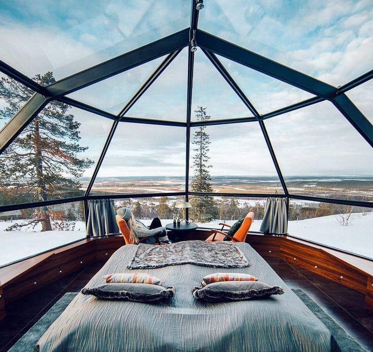 Levin Iglut, Finland
