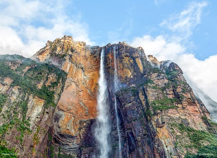 Angel Falls or Salto Angel in Venezuela, South America