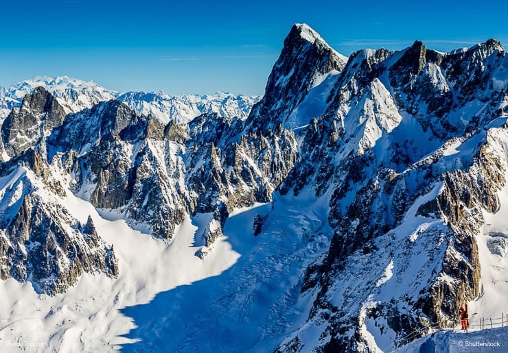 Mont Blanc and Chamonix
