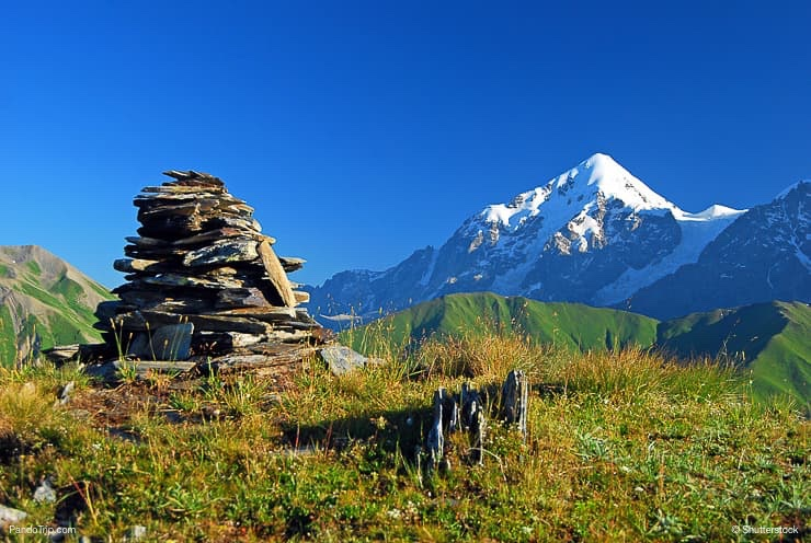 Mount Tetnuldi, Upper Svaneti, Georgia, Europe