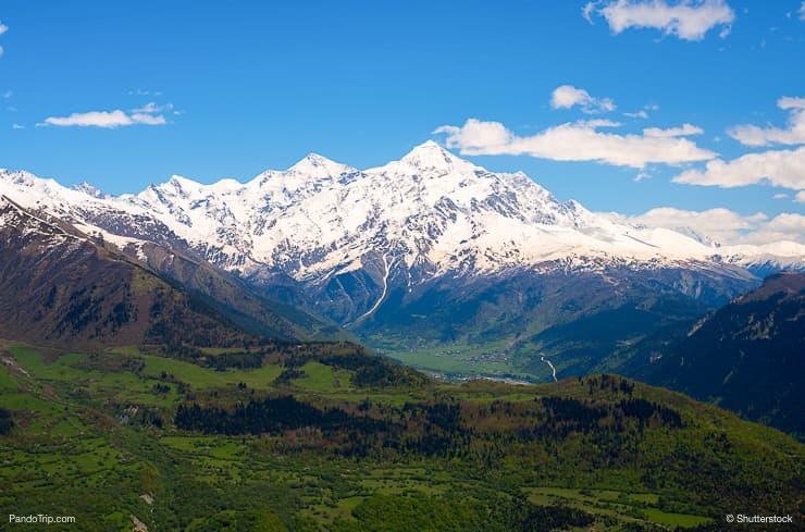 Peak Tetnuldi, Svaneti, Georgia