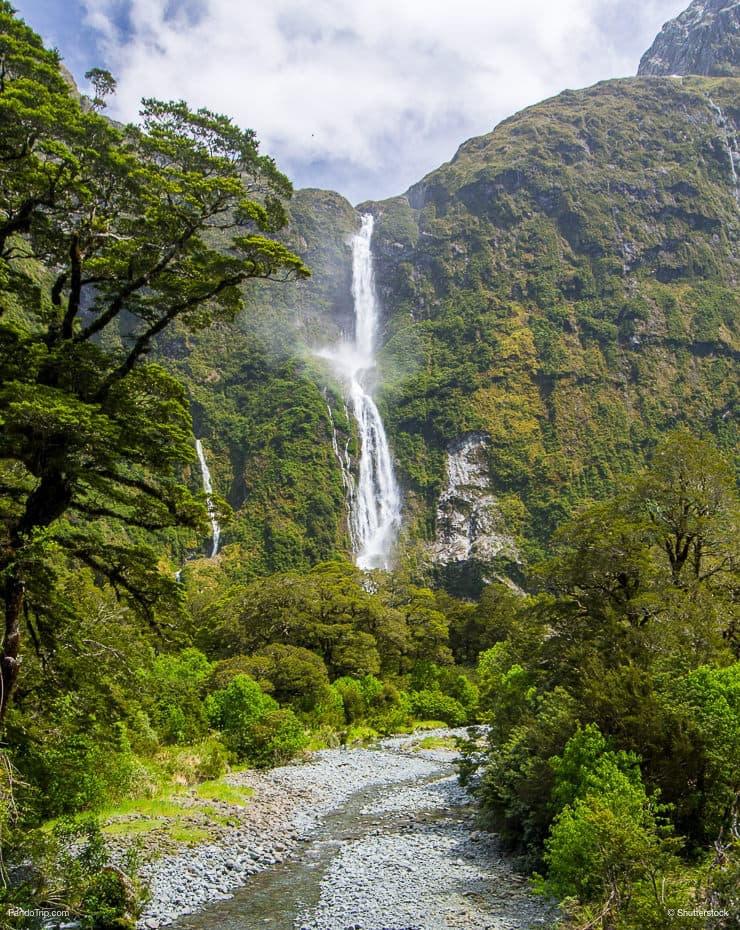 Sutherland Falls, Fiordland National Park