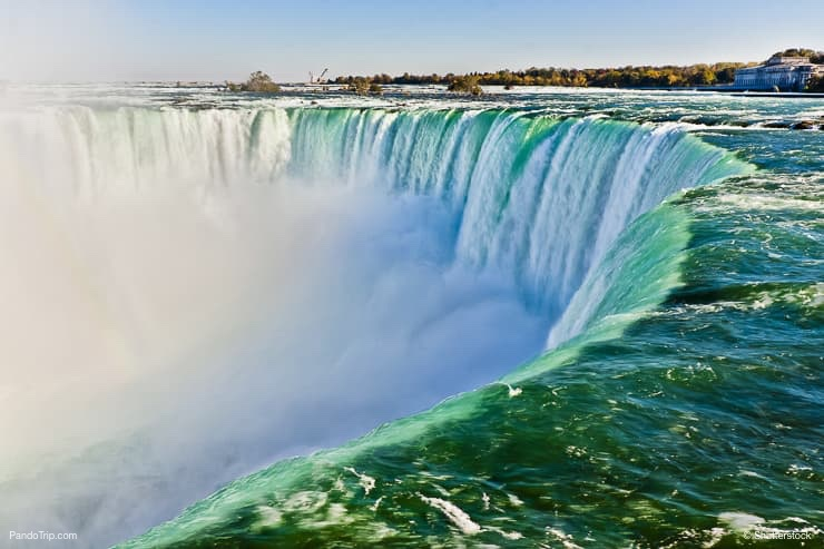 View from the Edge of Niagara Falls
