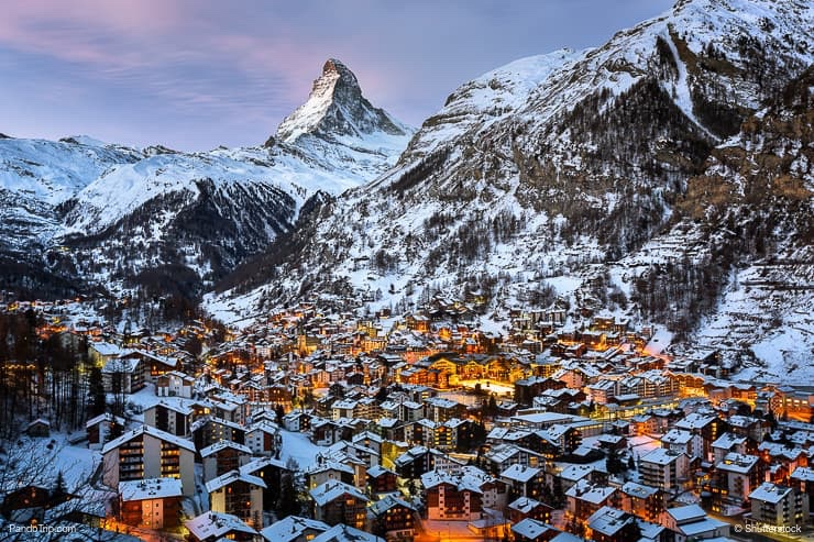 Matterhorn Peak and Zermatt Valley