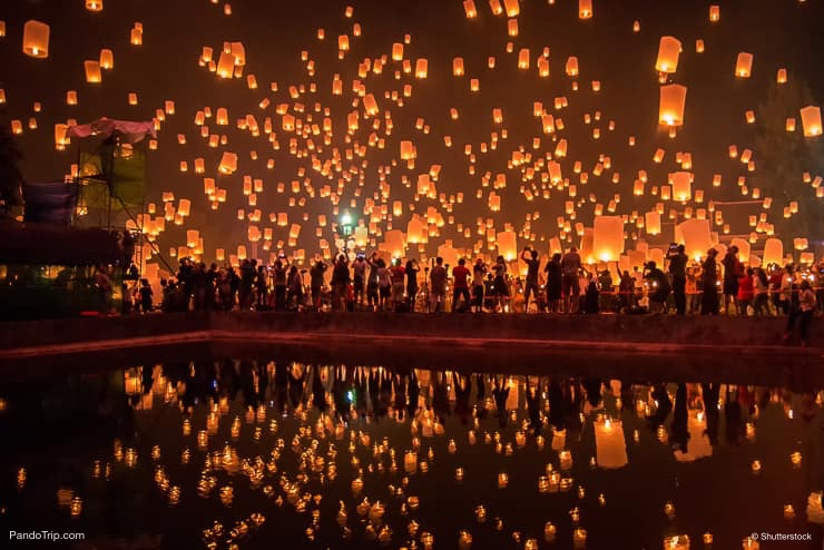 Chiang Mai festival in Thailand