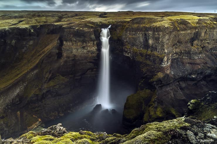 Haifoss waterfall
