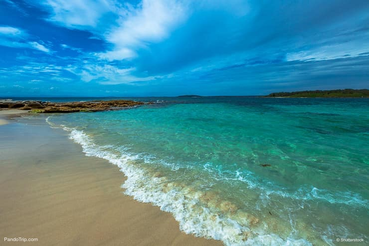 Hyams Beach in Jervis Bay National Park, New South Wales, Australia