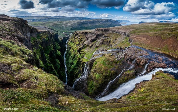 Iceland's Second Highest Waterfall - Glymur