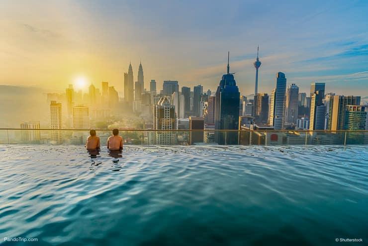Infinity Pool, Kuala Lumpur, Malaysia
