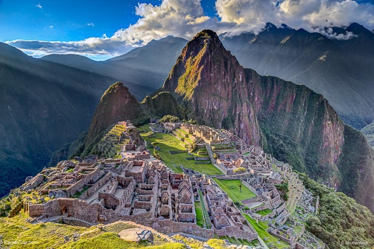Machu Picchu. One of the New Seven Wonders of the World