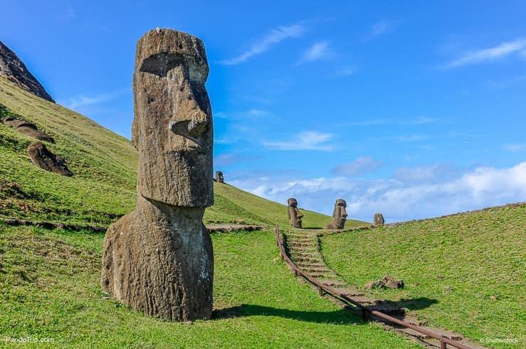Rano Raraku, Easter Island Heads_