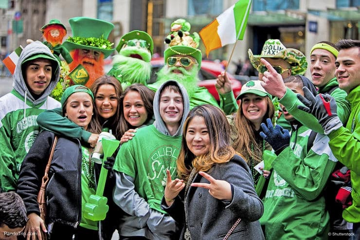 St Patricks Day Parade in New York City, United States