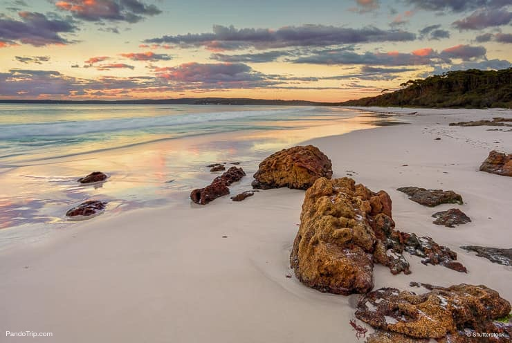 Sunrise at Hyams Beach Jervis Bay, Australia