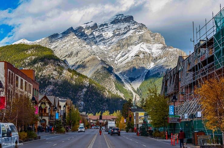 Banff Avenue, Alberta, Canada
