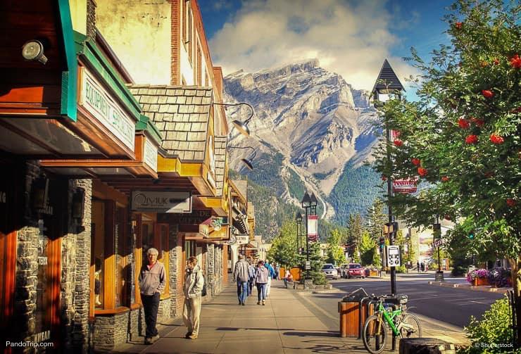 Banff Avenue, Banff, Canada