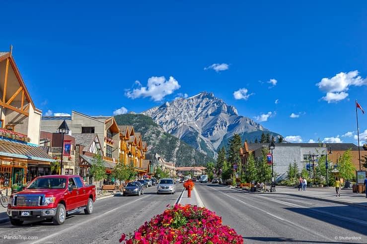 Banff Avenue, Canada