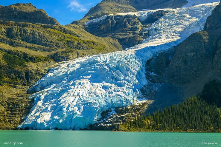 Berg Glacier, Berg Lake, British Columbia
