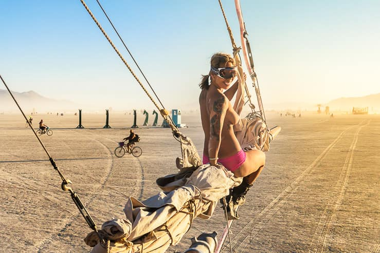 Burning Man Beauty