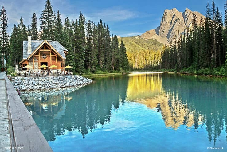Emerald Lake and Tea House, Yoho National Park, Canada