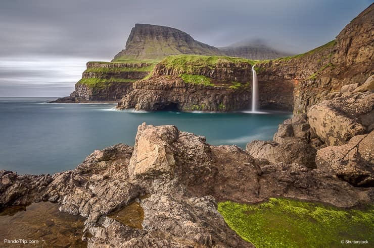 Gasadalur in Faroe Islands